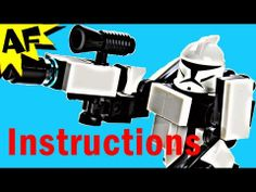 Instructions: Clone Trooper HardSuit Battle Armor from Custom R/C Turbo Tank