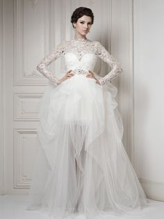 Wedding Collection- Ersa Atelier... not too sure about the bottom