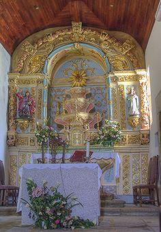 Main altar - Igreja Matriz de Vale das Fontes