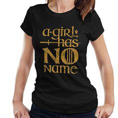 Femme Rose Arya Stark Hit List Game of Thrones Fan Designed as T-Shirt