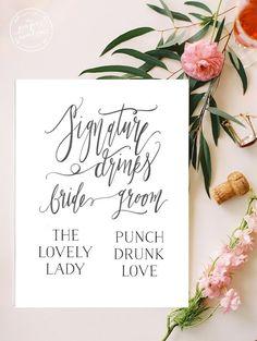 http://boards.styleunveiled.com/pin/2cc0b255c4894762e17aad3059ce2dcb < Wedding Signature Drinks Sign