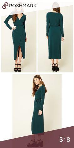 Spotted while shopping on Poshmark: Wrap Front Midi/Maxi Dress! #poshmark #fashion #shopping #style #Dresses & Skirts