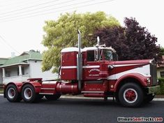 Murray Langfords 1969 model Kenworth W924 powered by the original 12V71 Detroit Diesel