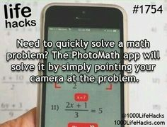 It really works I used it to check algebra homework problem. My friend uses it…