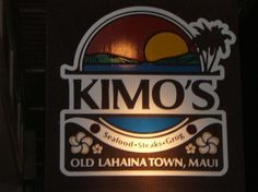 Old Lahaina Town, Maui..A must go everytime we're in Maui. Gorgeous view right on the ocean and amazing food :)