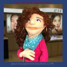 Custom full body Look a like  Professional Puppet Portrait Puppet ! by…