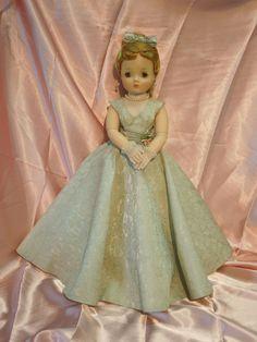 "Vintage 20"" Madame Alexander Cissy doll in #2171 opera dress + slip #Dolls"
