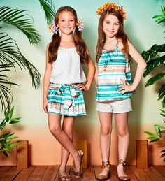 Looks da Joy disponíveis aqui na loja Mima.