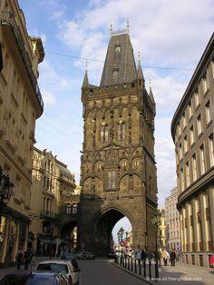 Torre polvorín - Praga - República checa