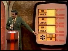 Price Is Right First Episode (9-4-1972) - YouTube