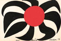 Alexander Calder, Grand Soleil 1973  Toma ideas del arte de Calder y realizalas en tu hogar