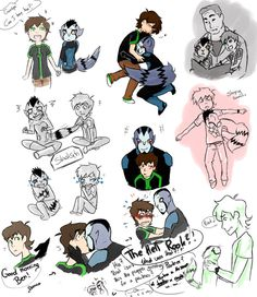 Ben+Rook Omniverse sketches by yuminica on DeviantArt