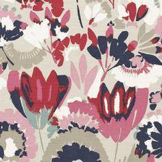 Villa Nova - Ortega, this fabric would make a fantastic cushion, or perhaps even a footstall.
