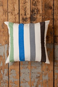 lemlem by Liya Kebede - Zoza Large Pillow - Hand woven in Ethiopia.