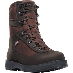62113 Danner Men's East Ridge All-Leather Hunting Boots - Brown