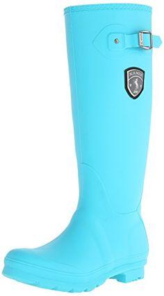 Kamik Women's Jennifer Rain Boot, Turquoise, 6 M US Kamik http://smile.amazon.com/dp/B00M07CCP2/ref=cm_sw_r_pi_dp_lzYavb1G1RP74
