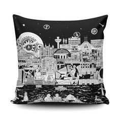 Liverpool skyline cushion black and white home decor cityscape pillow liverpool gifts housew liverpool skyline liverpool england cityscape art print 1421 Liverpool Bird, Liverpool Gifts, Liverpool Memes, Liverpool Museum, Liverpool Poster, Liverpool Vs Manchester United, Liverpool Skyline, Liverpool Fc Wallpaper, Liverpool Wallpapers