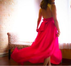 Rush Couture Pink Dress Manuela Yush Fashion Blog