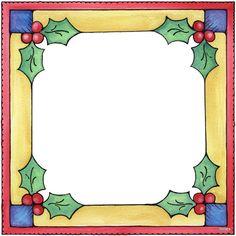 Marcos para Navidad para Imprimir Gratis. | anis | Pinterest ...