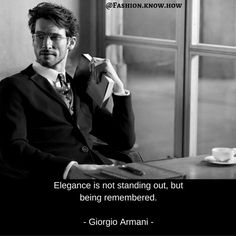Giorgio Armani - quotes