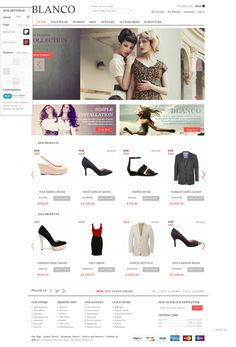 ecommerce Website'http%3A%2F%2F8theme.com%2Fdemo%2Fblanco%2F' snapped on Page2images!