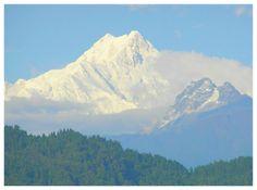 Must visit place: Kangchenjunga - The Third Highest Mountain view from Gangtok (Sikkim)