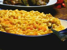 Garvin& No-Bake Macaroni and Cheese Recipe from Cooking Channel Macaroni Cheese Recipes, Bake Mac And Cheese, Baked Macaroni, Pasta Recipes, Mac Cheese, Chef Recipes, Food Network Recipes, Cooking Recipes, Meal Recipes