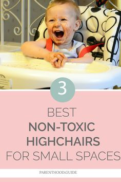 If you're looking for a highchair for your little one, but are short on space, you've come to right place. Check out our reviews of the top 3 picks. #highchairs #babyfeeding