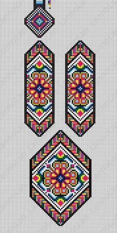 off loom beading techniques Loom Bracelet Patterns, Bead Loom Bracelets, Bead Loom Patterns, Peyote Patterns, Weaving Patterns, Jewelry Patterns, Cross Stitch Patterns, Beaded Embroidery, Embroidery Patterns
