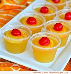 Upside Down Pineapple Cake Jello Shot Recipe by leanna