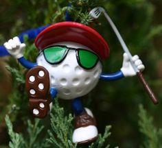 You Da Man Be The Ball Golf Character Ornament