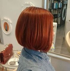 Reddish Auburn Hair Color