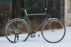 Cold Golden Scales: Winter Bicycles Mahasher
