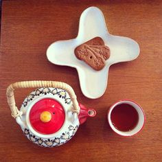 #teatime #théière #monoprix #antikbatik #speculoos #homesweethome #paris