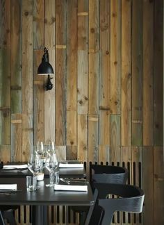 Reclaimed wood. for more ideas visit http://amsquarearchitecture.blogspot.com/