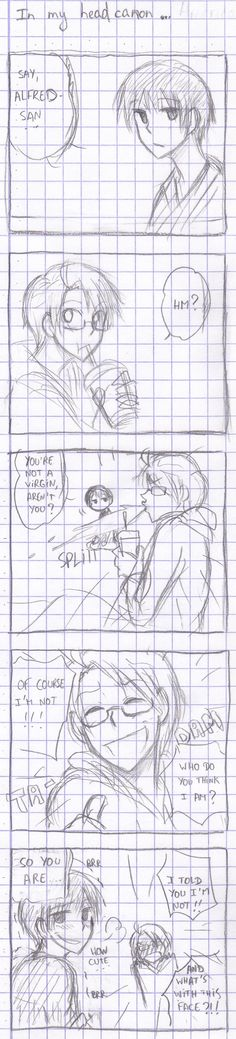 Hetalia - In my headcanon... by megane-no-buta.deviantart.com on @deviantART