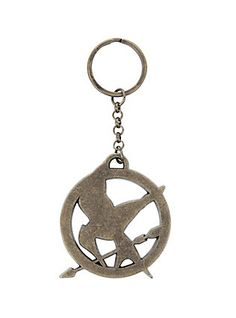 The World Of The Hunger Games Mockingjay Key Chain,