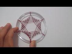 Filtro Dos SonhosPonto Triangular - YouTube Wind Chain, Dream Catcher Patterns, Dream Catcher Tutorial, Indian Arts And Crafts, Dorset Buttons, String Art Patterns, Creation Deco, Dyi Crafts, Beautiful Dream