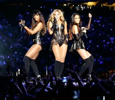 "Independent Women    Beyonce reunited with the other members of Destiny's Child -- Kelly Rowland and Michelle Williams -- for an electrifying performance at the Super Bowl halftime show on Sunday, Feb. 3. The trio, who haven't performed a live show together since 2007, moved seamlessly through a medley of their greatest hits, including ""Bootylicious"" and ""Independent Women."""