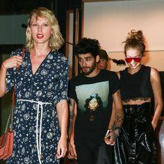 Taylor Swift, Gigi Hadid and Zayn Malik step out in NYC, plus more celeb pics…