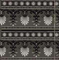Bordure: Wallpaper, 1799. National Library Of France, Public Domain