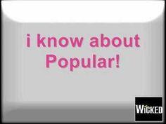 Wicked - Popular (Karaoke) - YouTube
