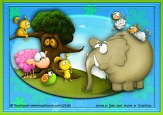Created by Sandi using TooshToosh artwork