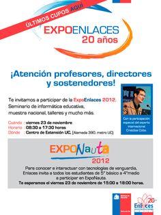 Expo Enlaces via @cristobalcobo