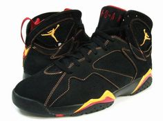 super popular 63b62 5f052 Air Jordan 7 (VII) Retro-Black   Citrus-Varsity Red Air Jordan 7 - Nike  official website Up to discount