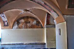 Bordighera (IM) loggia sotto il campanile (ex torre)
