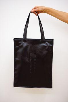 Adorable black handbag Měj ráda sama sebe - Love yourself by Lada Vyvialová I