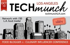 tech/candid: TECHmunch Los Angeles, Food Bloggers Conference 2015