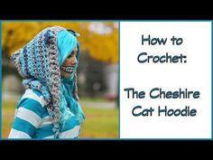 Crochet Tutorial: Cheshire Cat Hoodie | YARNutopia by Nadia Fuad