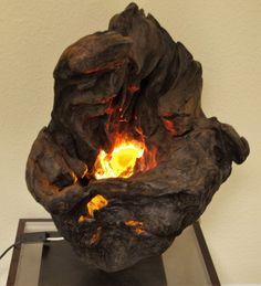 Articoli simili a Scultura di Driftwood lampada Driftwood - spostare su Etsy